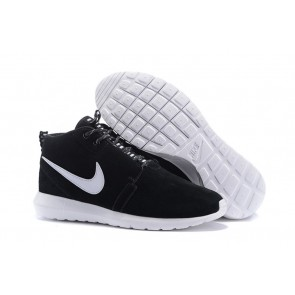 Homme Nike Roshe Run Sneakerboot Noir