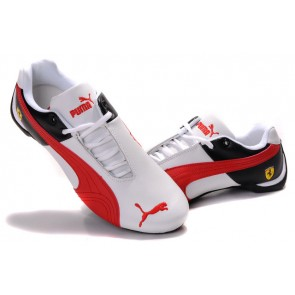 Homme Puma Future Cat Leather SF Rouge/Blanc/Noir