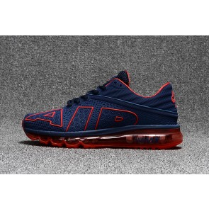 Homme Nike Air Max Flair Bleu/Rouge