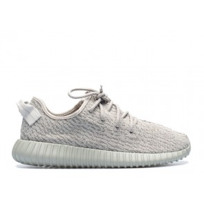 Homme Adidas Yeezy Boost 350 Gris/Blanc