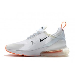 Femme/Homme Nike Air Max 270 Blanc/Orange