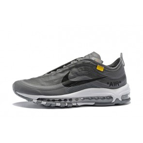 Femme/Homme OFF-WHITE x Nike Air Max 97 Gris
