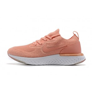 Women Nike Epic React Flyknit Brown/Blanc