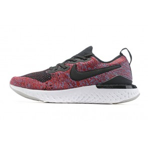 Femme/Homme Nike Epic React Flyknit Rouge/Blanc