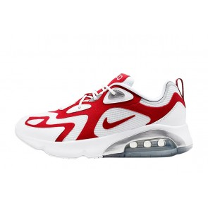 Homme Nike Air Max 200 Blanc/Rouge